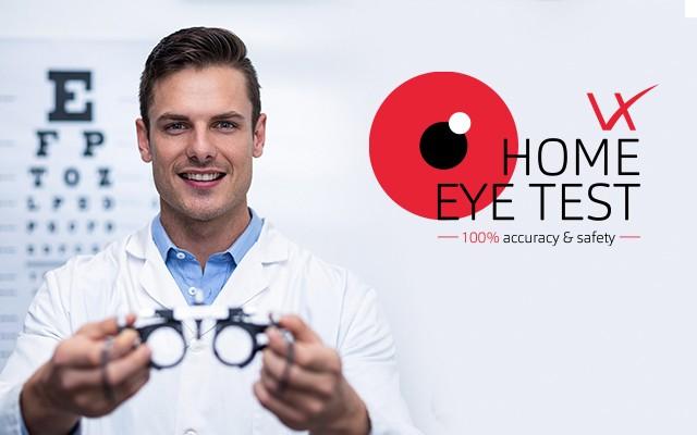 Home eye test
