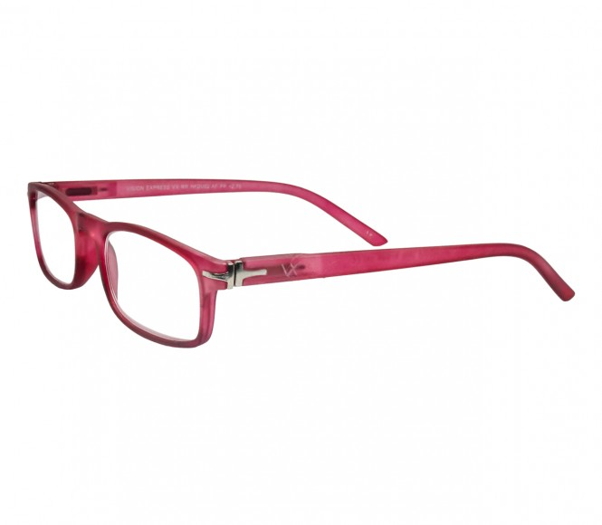 Pink Rectangle (+2.75 Power) Polycarbonate Medium HFDU02PN Reading Glasses